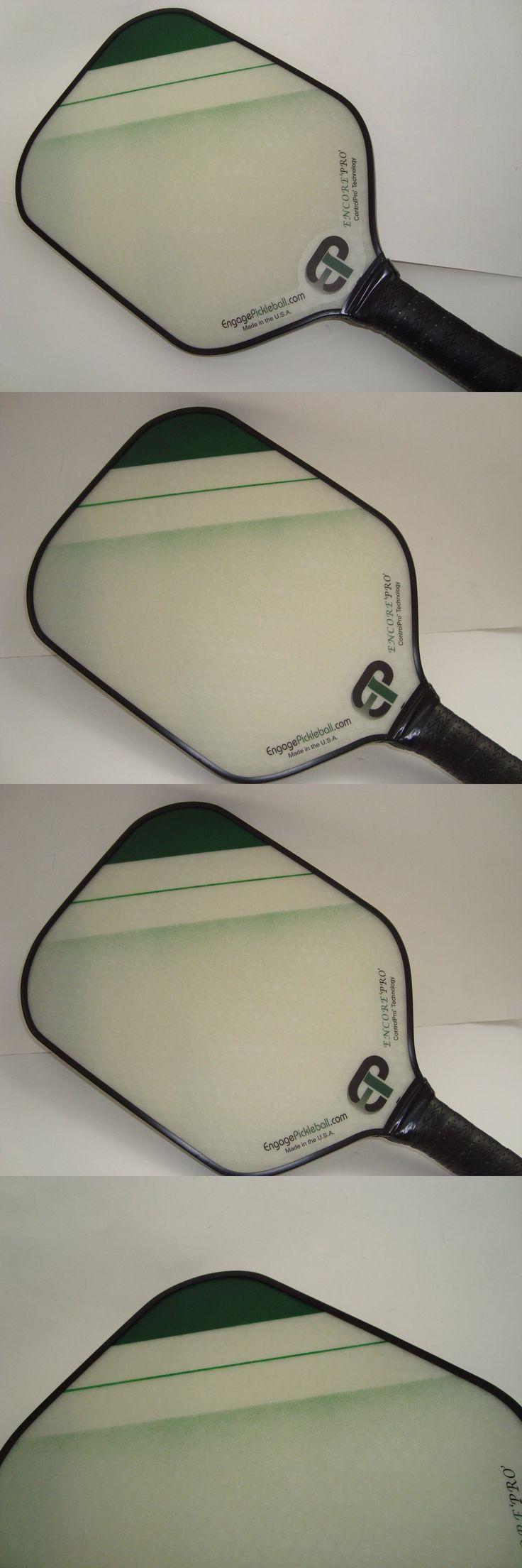 Other Tennis and Racquet Sports 159135: New Engage Encore Pro Pickleball Paddle Enhanced Feel Larger Sweet Spot Green -> BUY IT NOW ONLY: $85 on eBay!