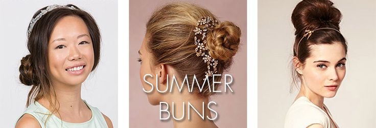 Summer means weddings and parties, lots of which happen outside. Summer also means it can get extremely hot, so wearing your hair up in a bun is a great way to go for these types of events. Check out these 11 buns that are perfect for your summer hairstyle!.
