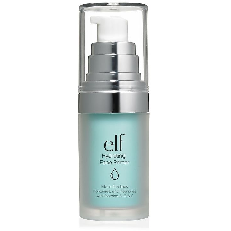 e.l.f. - Hydrating Face Primer. Like the purple one too (poreless). Good day off primer but need something else for my 10-hour days.