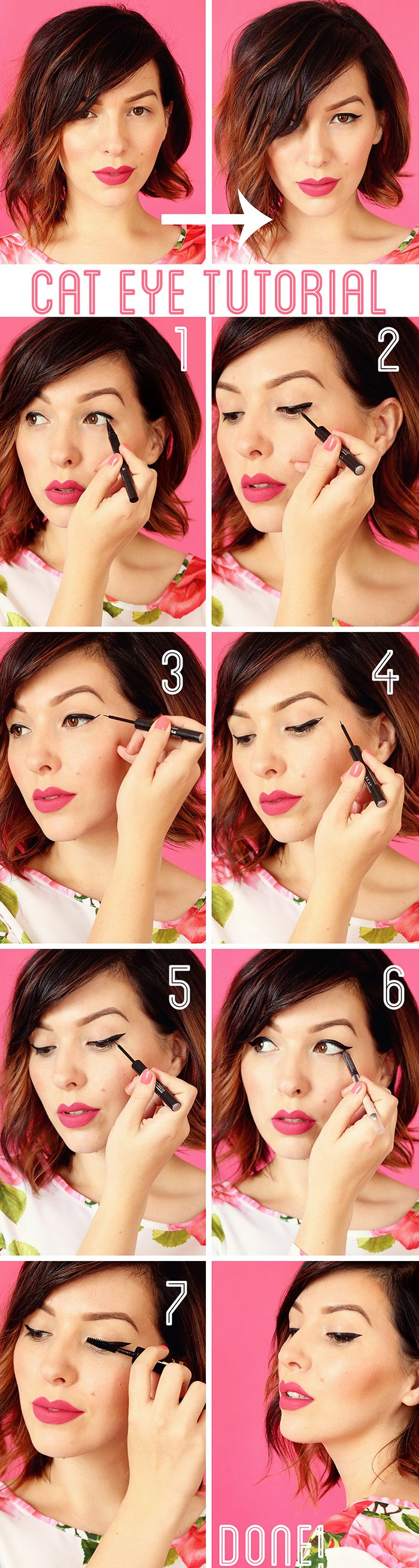 Stunning looks With Cat Eye Makeup | Young Craze