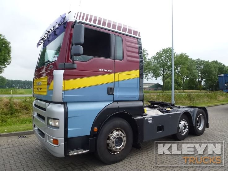 For sale: Used and second hand - Tractor unit M.A.N. 24.430 #trucks at #kleyntrucks