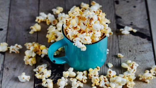 Popcorn Provides Fiber and Whole Grains