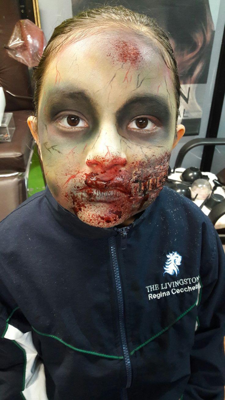 Makeup Zombie sencillo