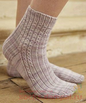 Socks «Stride» from The Knitter - finished them ... great pattern ❤