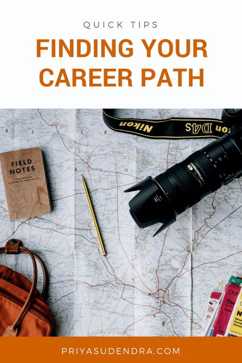 Quick Tips: Finding Your Career Path | P R I Y A S U D E N D R A