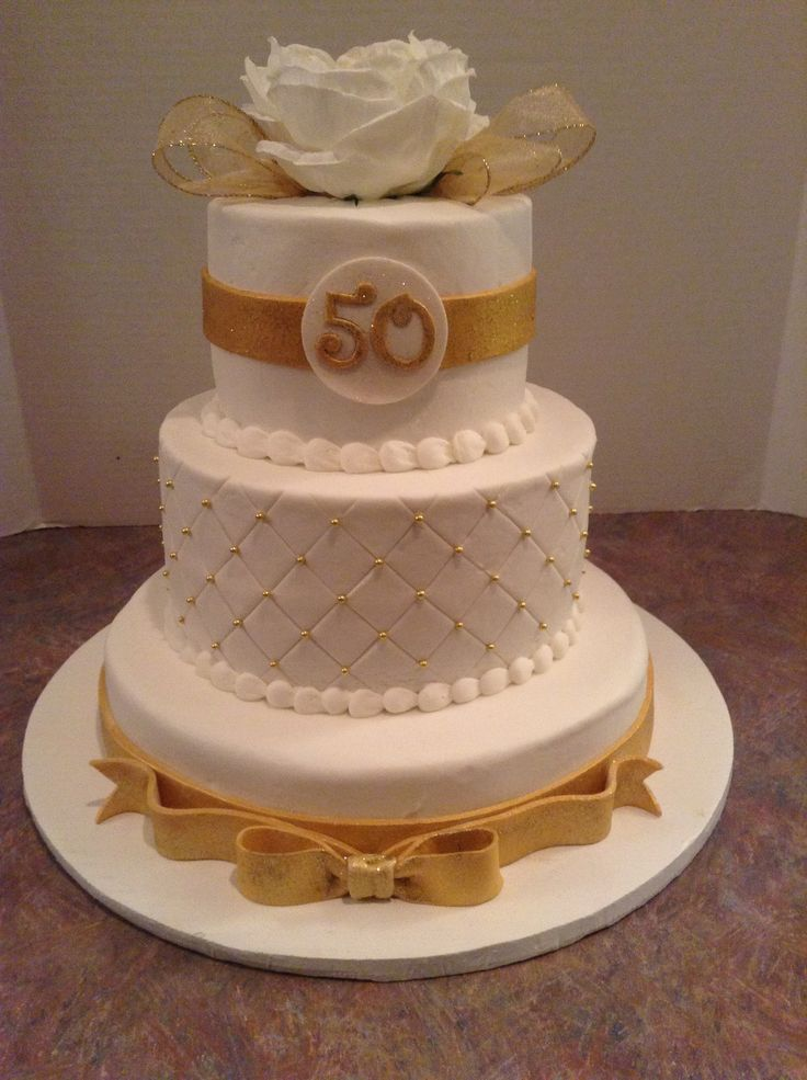 golden wedding cake ribbon best 25 50th anniversary cakes ideas on 50th 14765