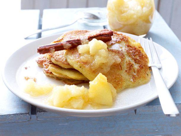 Kartoffelpuffer mit Apfelkompott   Recipe   Rezepte ...