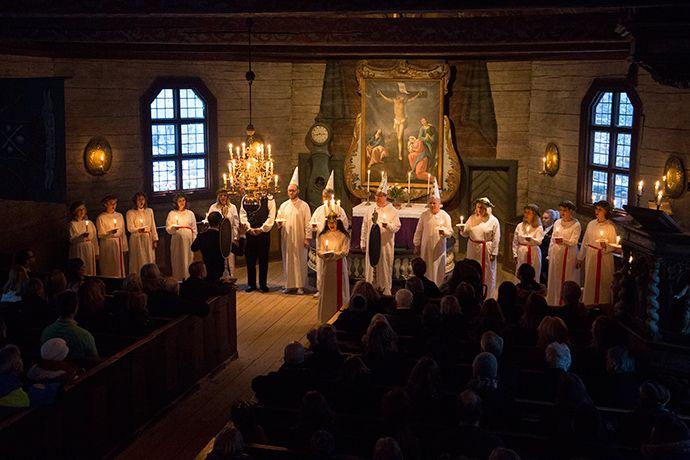 Visitare Stoccolma in Svezia durante i festeggiamenti di Santa Lucia