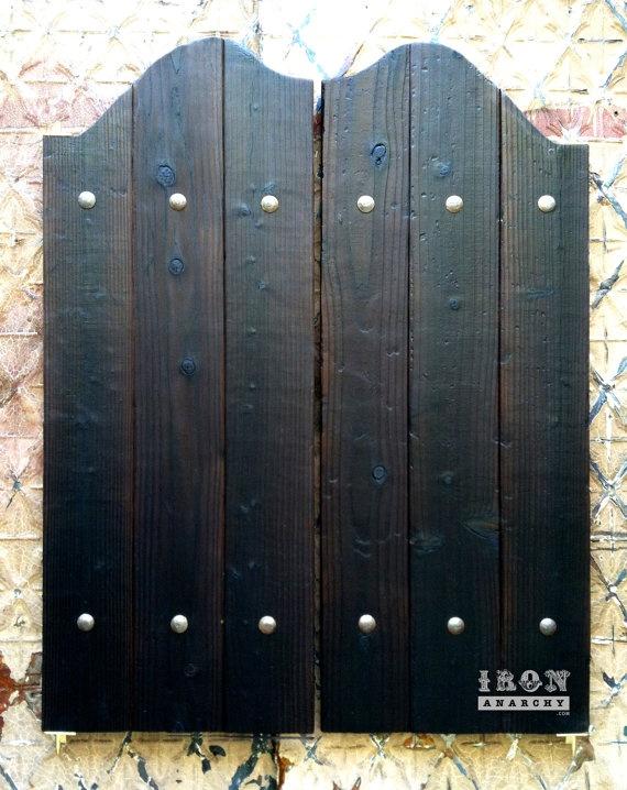 Aged Western Saloon Doors Swinging Bar Pub Ranch Vintage Wood. $379.00 via Etsy & 120 best Saloon Doors images on Pinterest | Saloon decor Doors ... Pezcame.Com