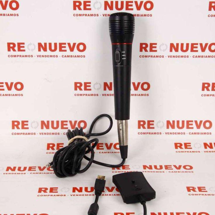 Micrófono con cable E268397 de segunda mano #micro #musica #segundamano