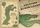 MONDO POSTER Creature From The Black Lagoon by Laurent Durieux Limited Print