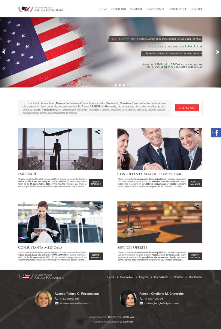 Lawyer's presentation website