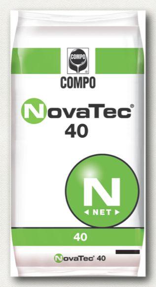 ΚΟΚΚΩΔΗ ΛΙΠΑΣΜΑΤΑ_NovaTec_NovaTec 40 Σύνθεση: 40-0-0  Υδατοδιαλυτό λίπασμα αζώτου με παρεμποδιστή νιτροποίησης του αζώτου (DMPP), κατάλληλο για κάθε καλλιέργεια.     Συσκευασία: σάκοι των 40 κιλών.