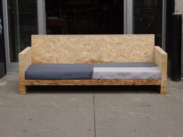 les 10 meilleures images du tableau meuble osb sur pinterest boiseries acier bois et ameublement. Black Bedroom Furniture Sets. Home Design Ideas