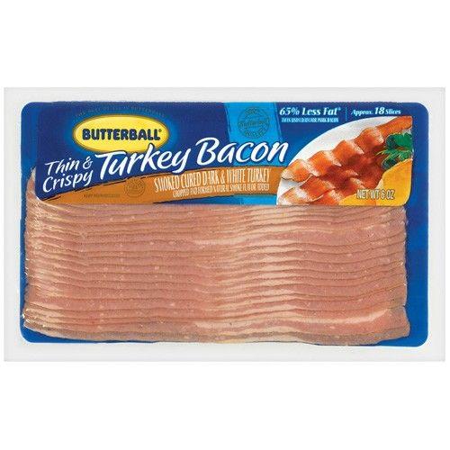 Butterball Turkey bacon. So good, healthier & cheaper.