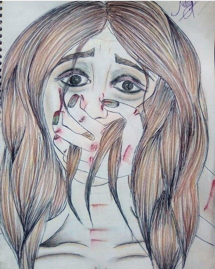 Dicen que los dibujos son un reflejo de nuestro interior. Si eso es verdad, no q…