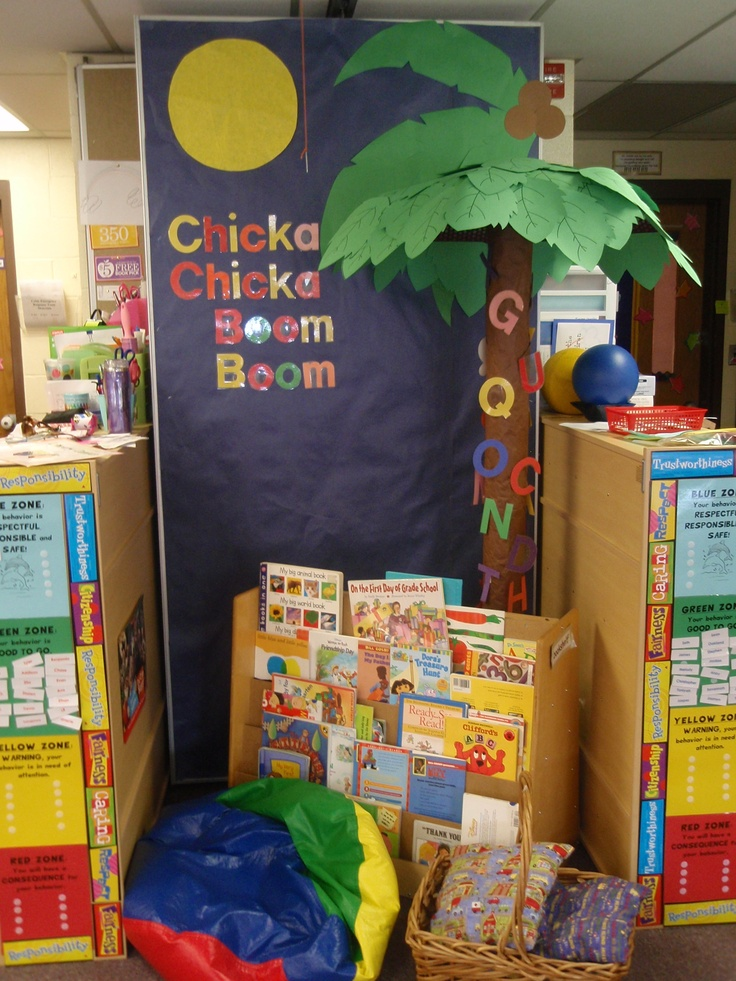Chicka Chicka Boom Boom Our Reading Corner I Made The