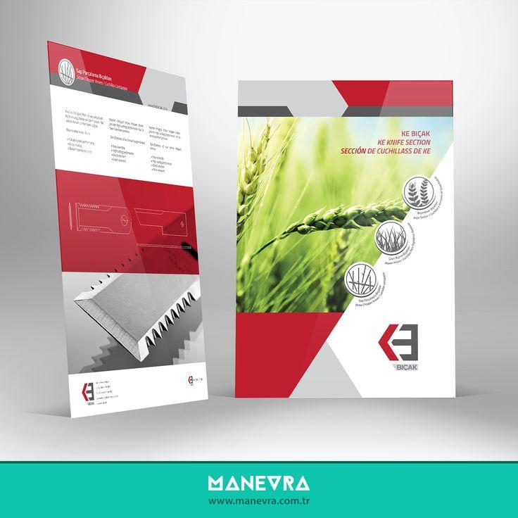 Ke Bıçak Katalog Çalışması #manevra #kurumsal #tasarım #katalog #reklam