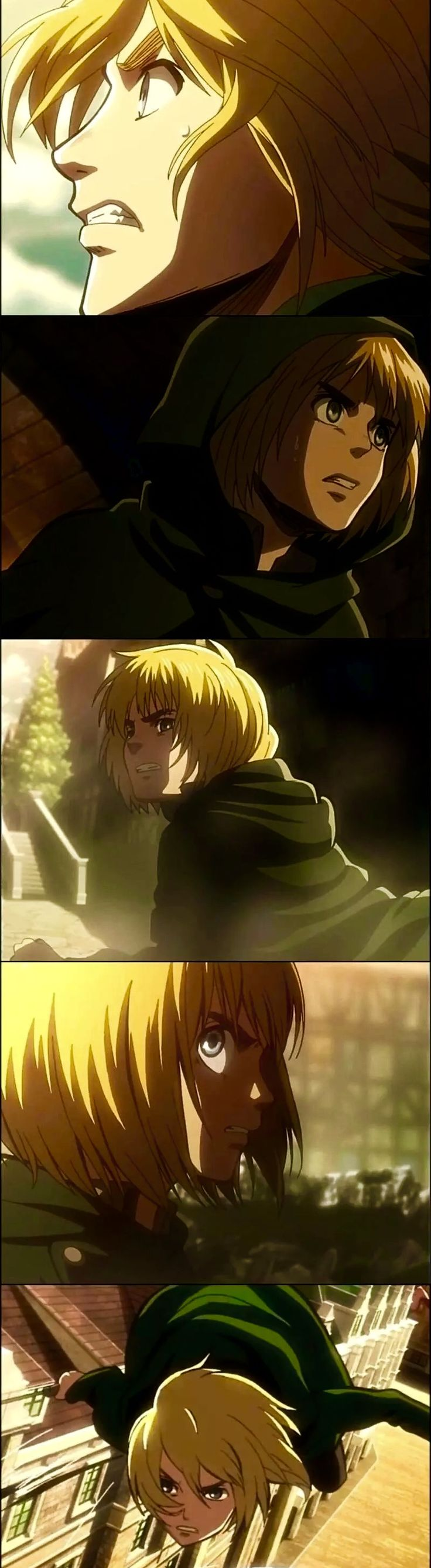 Armin Arlert looking super attractive at these angles