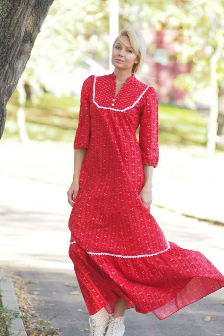 Купила Маруся красный сарафан: your_look_today