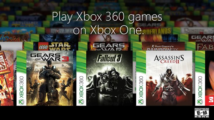 104 Xbox 360 games backwards compatible on Xbox One