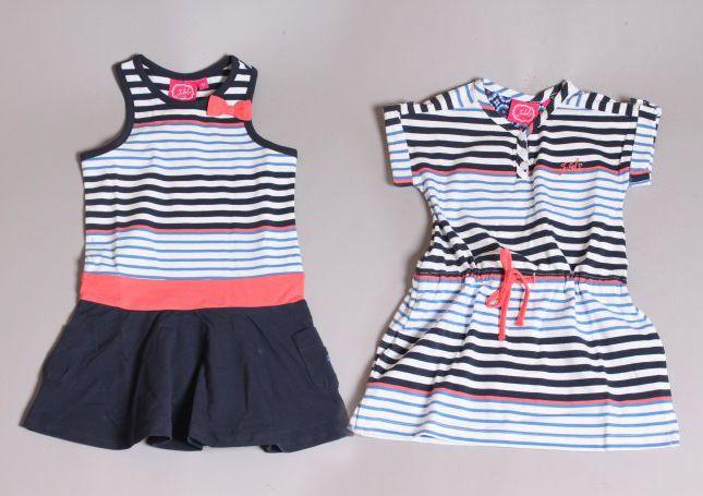 Marine blauw gestreepte jurkjes van JUBEl uit de voorjaar/zomer collectie 2014!