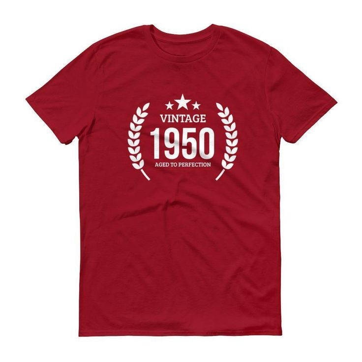 Men's Vintage 1950 Aged to perfection T-shirt - 1950 birthday gift ideas - 67 Birthday