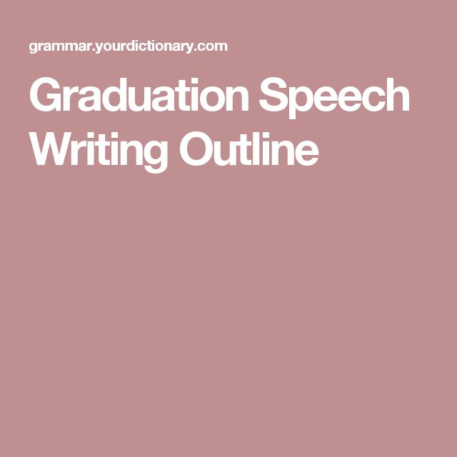 The 25+ Best Graduation Speech Ideas On Pinterest | Senior