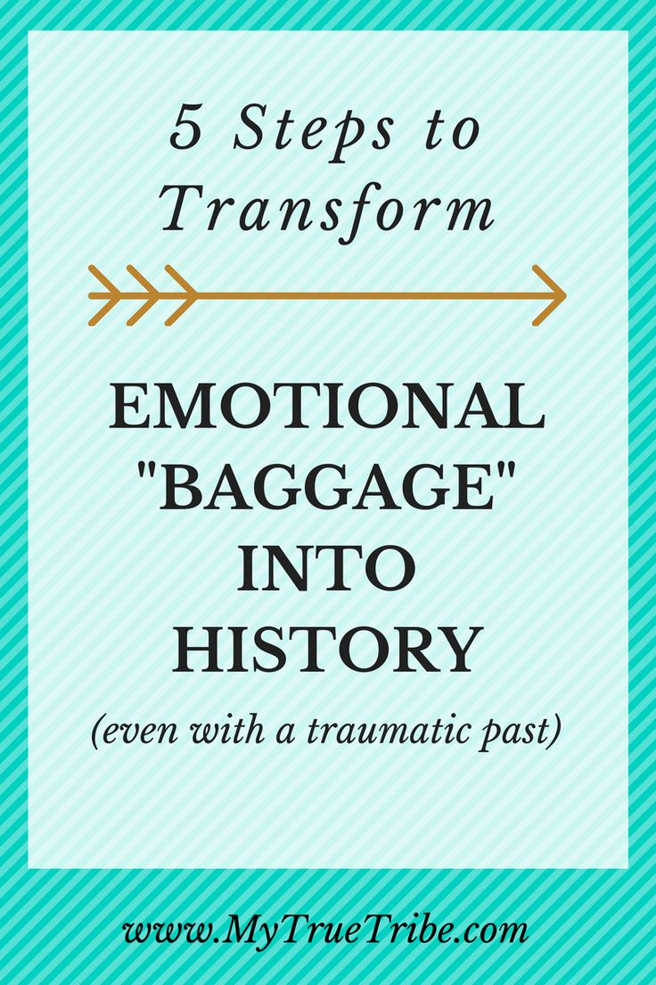 It's hard to let go of the emotional baggage that often accompanies traumatic memories. Here are 5 steps to transforming something bad into something good.
