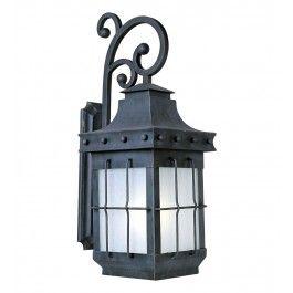 Maxim Lighting   86085FSCF   Nantucket Energy Efficient 1 Light Outdoor  Wall Lantern $528.00 Lamps.