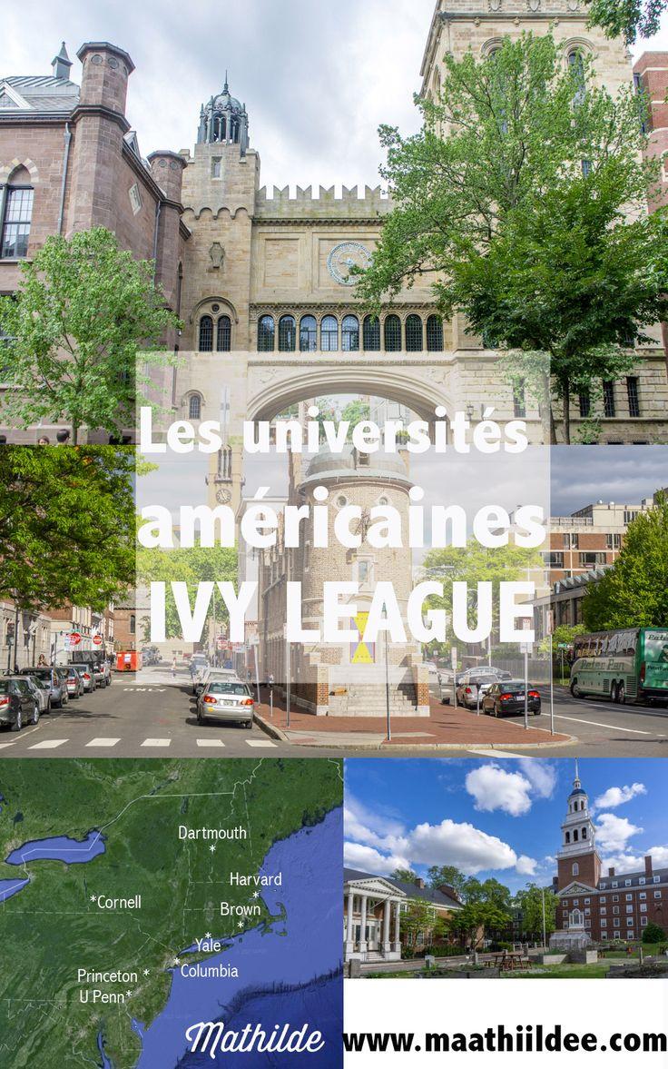 Sur la côte Est américaine, 8 universités prestigieuses font partie de l'élite. J'en ai visité 4, toutes les 4 en Nouvelle Angleterre : Harvard, Yale, Dartmouth et Brown.