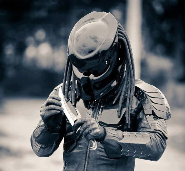 Predator Helmet - Not sure what else you could ever want..