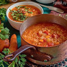 Рецепты от Юлии Высоцкой: рисовый суп с помидорами и шоколадный пирог со сгущенкой