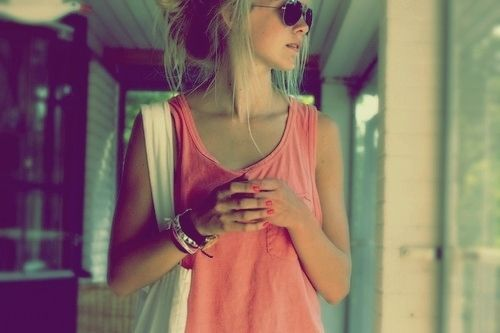 Fashion, Summer Outfit, Shirts, Summer Style, Beach Style, Comfy Casual, Pink, Tanks, Summer Wardrobe