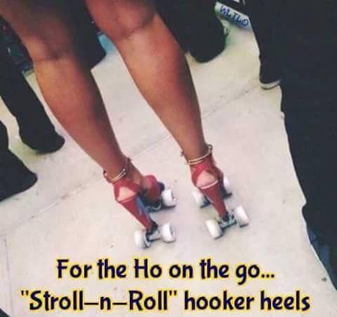 Strolling Hooker Heels