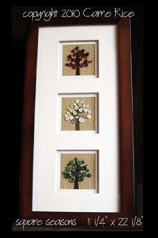 Button Tree: Florals & Botanicals