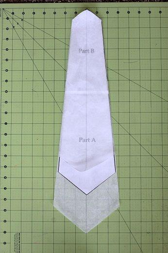 neck tie pattern sizes