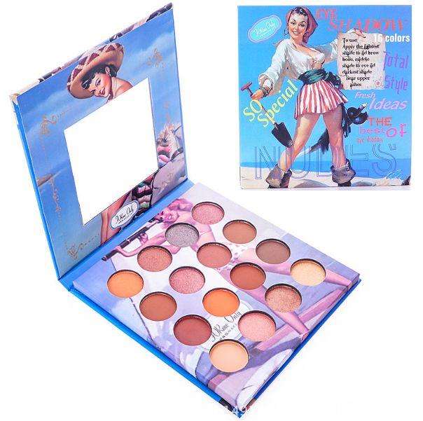 Für mich nur 16 Farben Nudes Eyeshadow Plette A (blaue Packung) – Color Zone Cos …   – Makeup – Products/Equipment