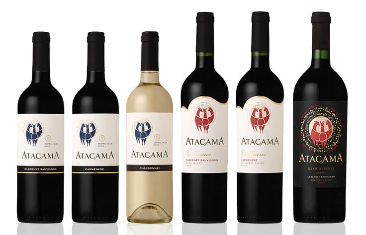 ATACAMA WINE / Diseño de Etiquetas de Vino / Ranco Wines / 2011 / Panal Diseño