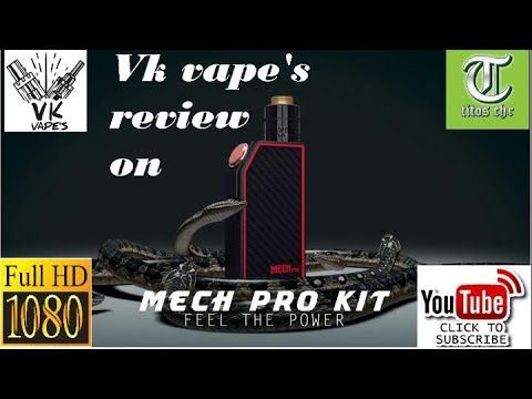 Vk vape's on Geekvape Mech Mod