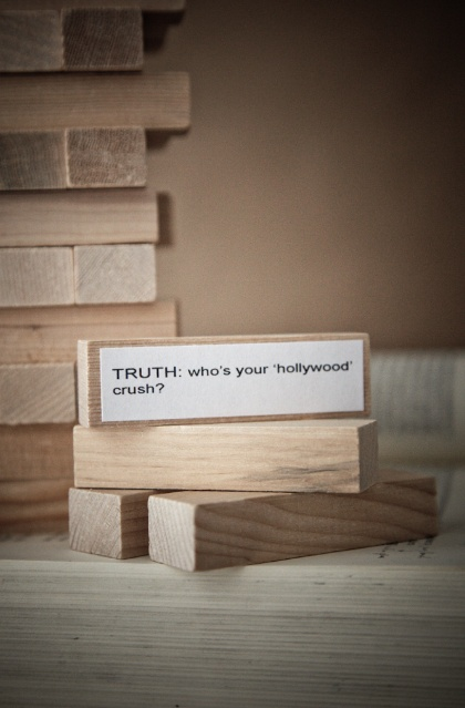 party game: truth or dare jenga