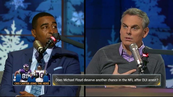 Cris Carter: Hard to believe Patriots didn't know extent of Michael Floyd's DUI arrest | THE HERD - http://getmybuzzup.com/cris-carter-hard-to-believe-patriots-didnt-know-extent-of-michael-floyds-dui-arrest-the-herd/
