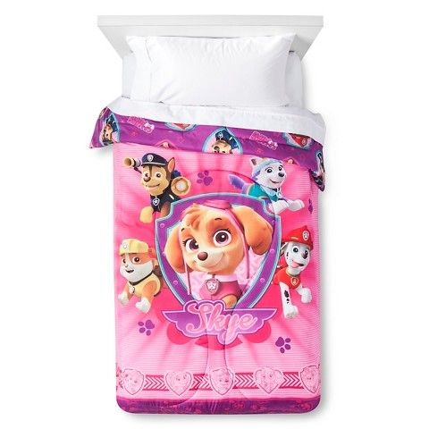 Paw Patrol Comforter Twin Multi-Color