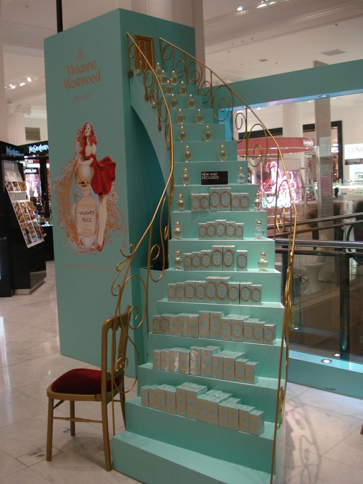 Vivienne Westwood Naughty Alice In Store Display by Elemental Design.