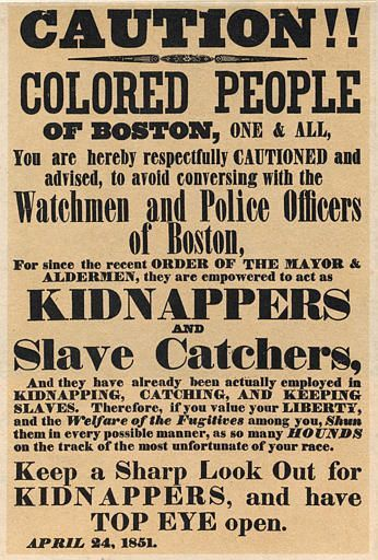 Sep 18 1850 United States Congress Passes Fugitive Slave Act The Fugitive Slave…