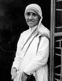 my ideal person mother teresa Mother teresa is caring, selfless, religious and a risk taker she motivates me to  be a better person, and this is why i chose her as my role model mother teresa.