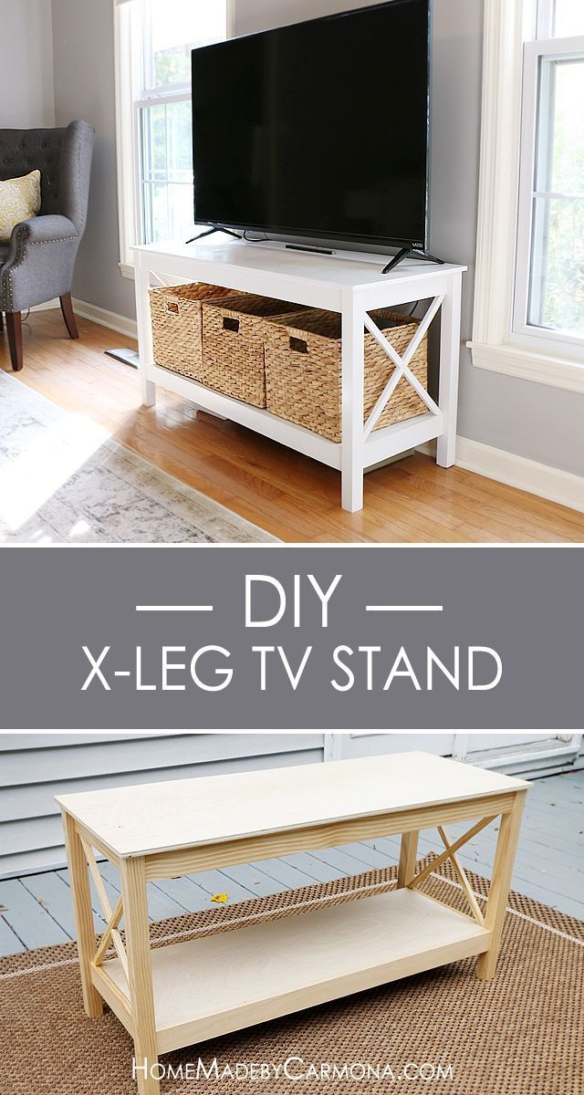 Learn how to build this stylish x leg
