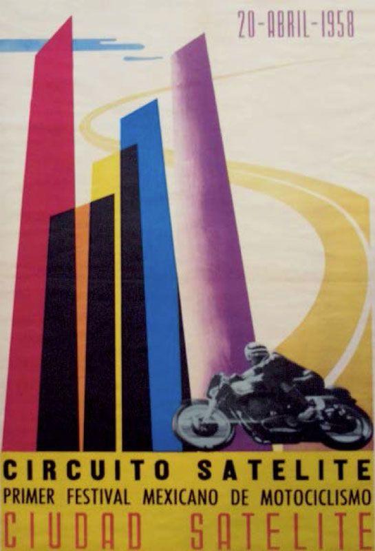 Circuito Satelite Primer Festival Mexicano de Morociclismo Cuidad Satelite (20 April 1958)