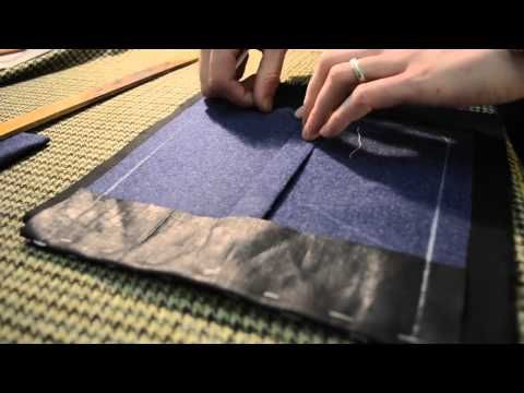 ▶ The Making of a Coat #6 Making Patch Pockets - YouTube