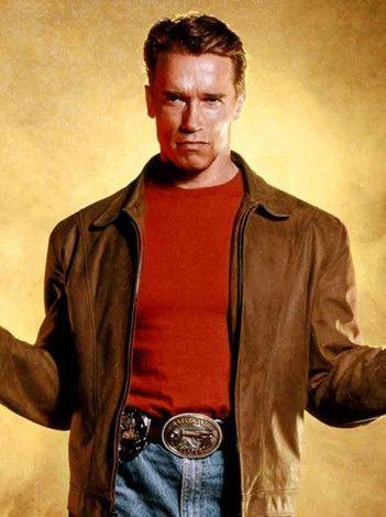 Arnold Schwarzenegger Jacket for sale at Affordable Price $179.99 Last Action Hero Film Leather Jacket role as Jack Slater . #arnoldschwarzeneggerjacket #lastactionhero #arnold schwarzenegger # jackslater #leatherjacket #brownjacket #mensjacket #jacket